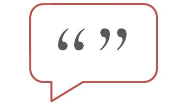 Should quotations be used in medical marketing materials?